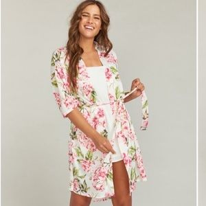 Show Me Your MuMu Brie Robe Garden of Dreams